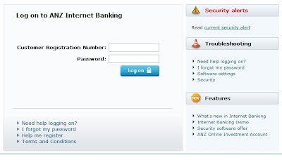 anz contact internet banking