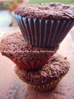 muffin al supercioccolato