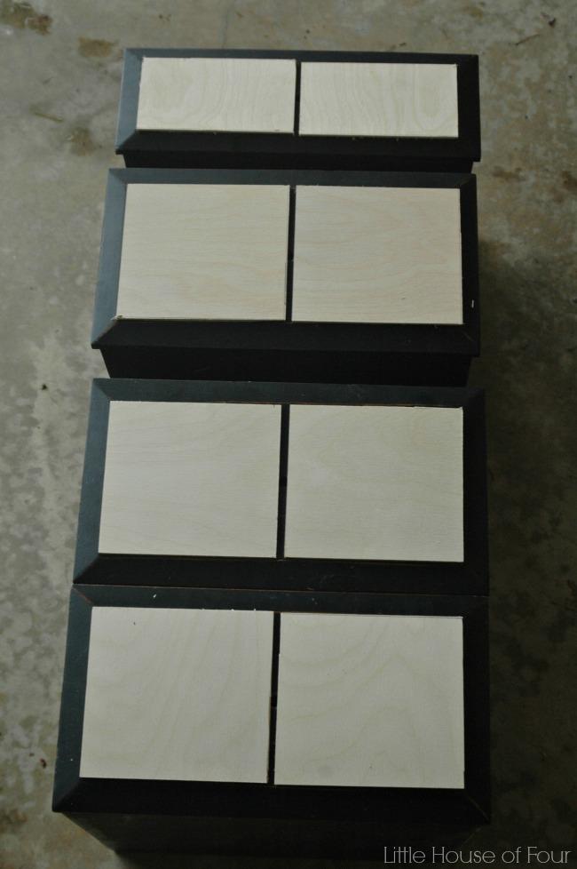 faux card catalog