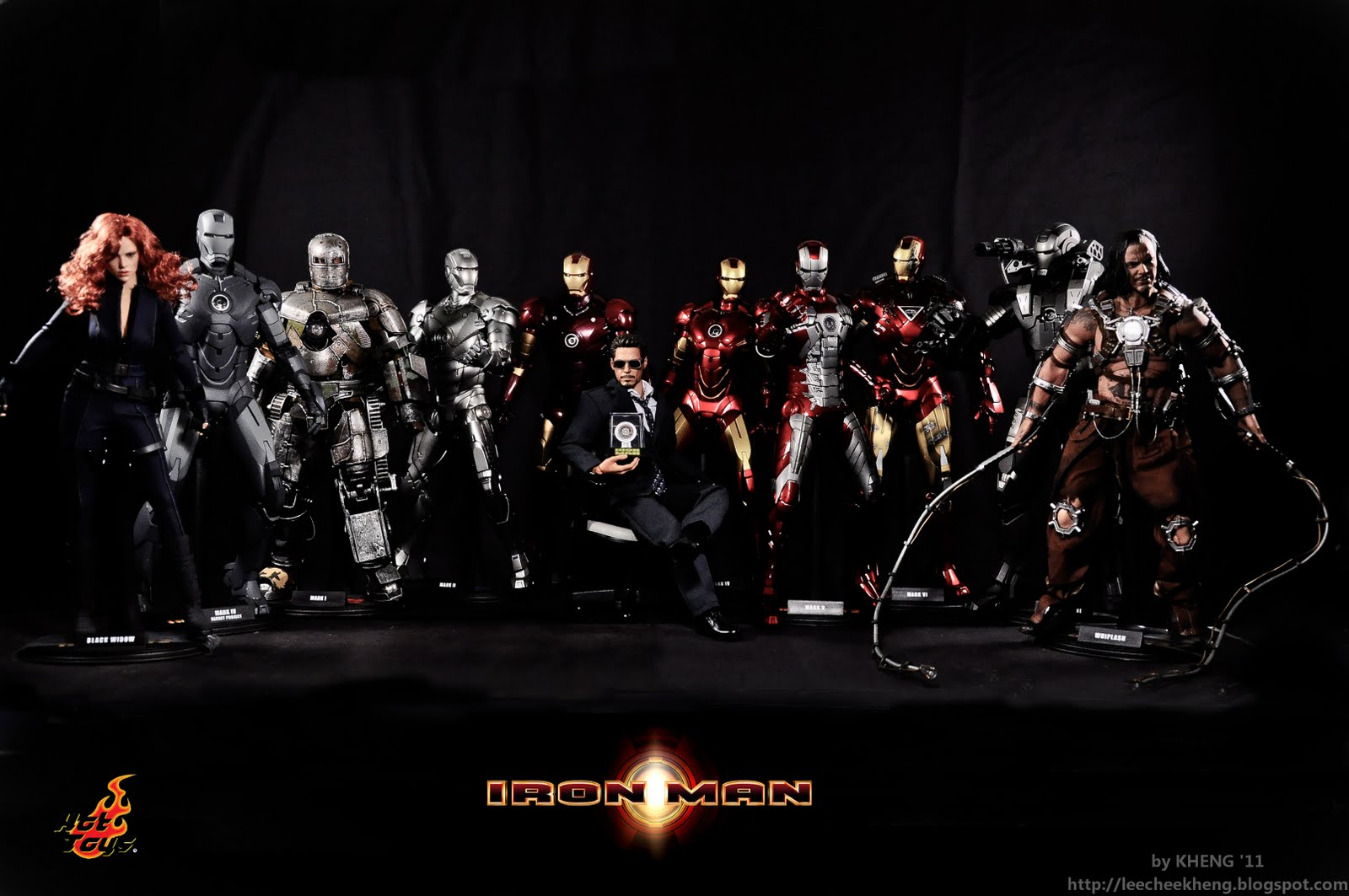 iron man all mark - photo #12