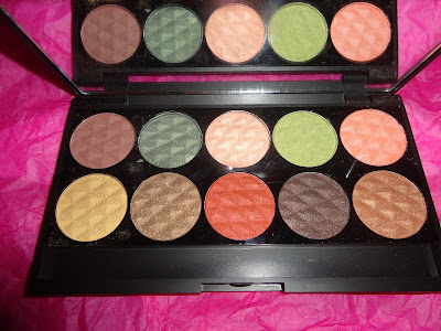 city color cosmetics palette review