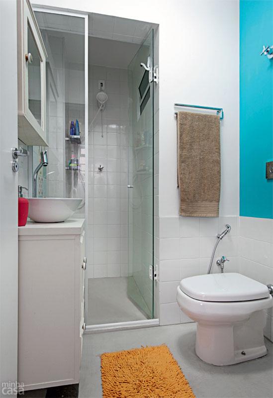 DECORA INTERI Banheiros e lavabos sem janela -> Banheiro Pequeno Com Duas Portas