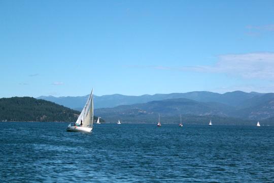 Lake Pend Oreille Sailing