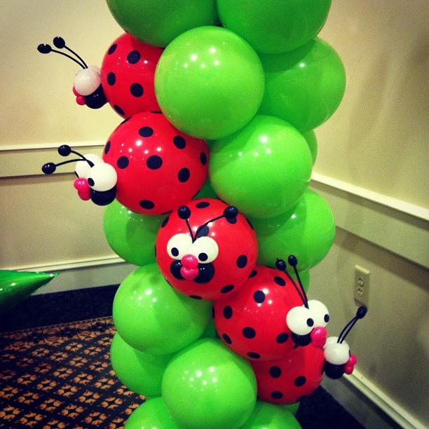 FunnyCheeks Blog: Ladybug everything! A theme birthday party idea