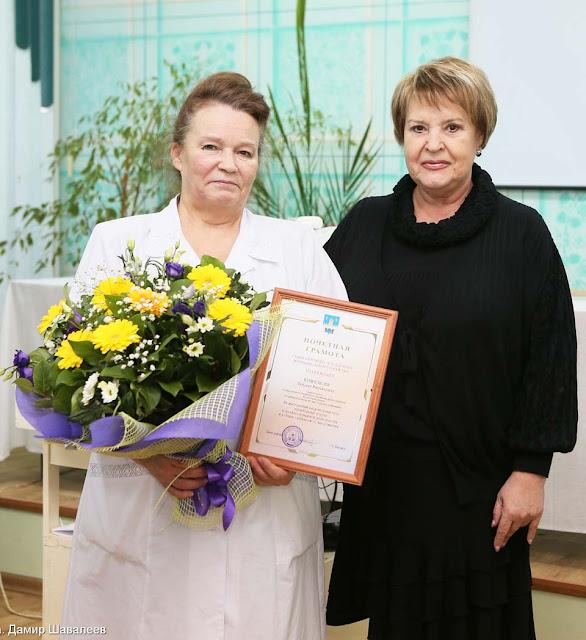 Главного врача Сергиево-Посадской детской поликлиники отметили грамотой главы района