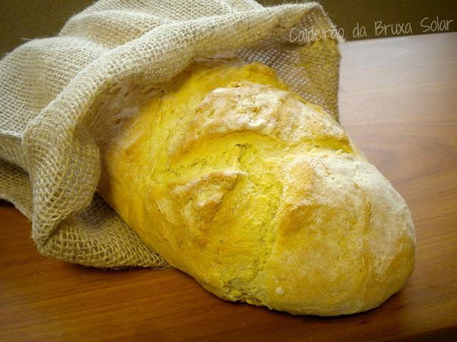 Pão de cerveja e semolina