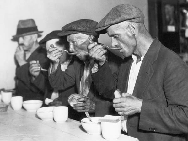 Soup kitchen during the great depression source casoupkitchen the