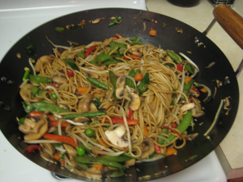 Flavors by Four: Vegetable Lo Mein