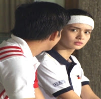 Jason Abalos and Erich Gonzales