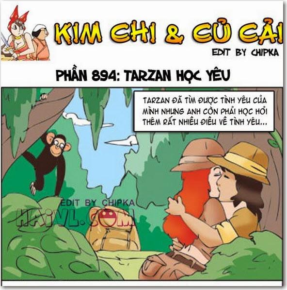 Kim Chi và Củ Cải phần 894 - Tarzan Học Yêu