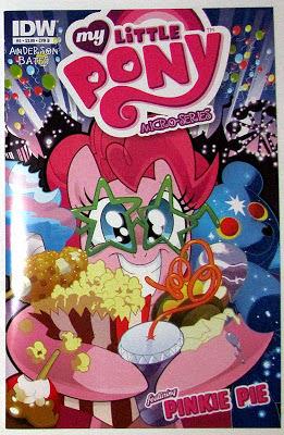 MLP:FiM micro series #5 (Pinkie Pie) cover B