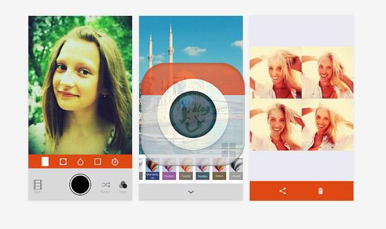 Retrica android app