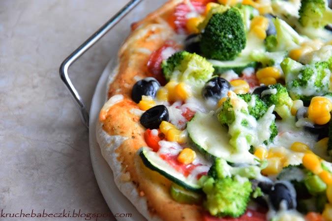 Pizza pieczona na kamieniu :)