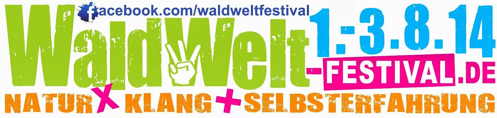Offizielles Banner WaldWelt-Festival 2014