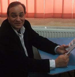 Aspect din timpul anunţării rezultatelor: Prof. Cătălin Păiuş, 15.IV.2011
