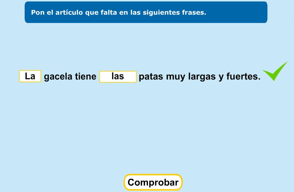 http://www.primerodecarlos.com/TERCERO_PRIMARIA/enero/Unidad_6/actividades/lengua/articulo1/indice.swf