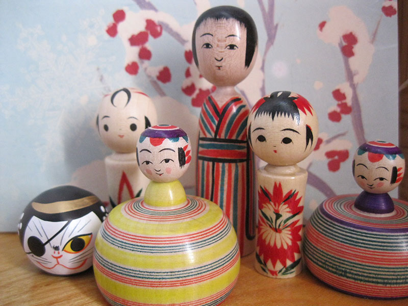A Shop For Kokeshi In Sendai Japan All Over Travel Guide