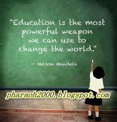 Photo of the day-What Nelson Mandela say about education