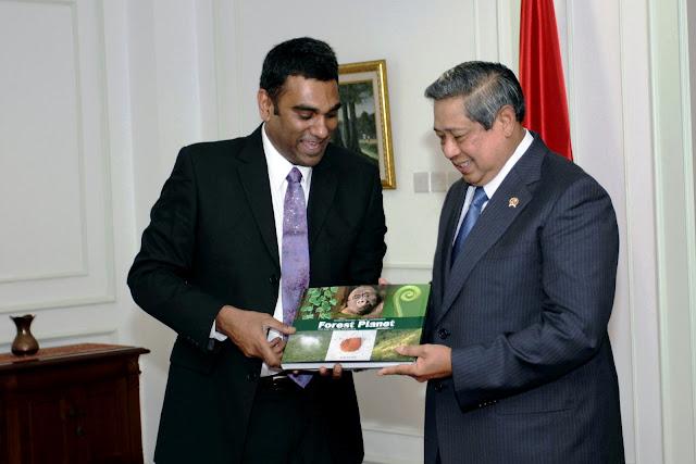 Direktur Greenpeace Internasional Temui Presiden SBY
