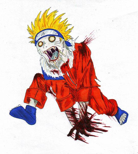 Самый тупой в мире маг: Naruto Zombies