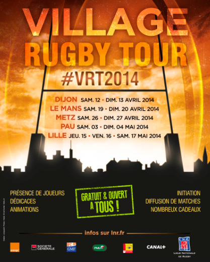 Pau :Village Rugby Tour 2014