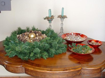 Navidad decorando interiores page 2 for Adornos navidenos para oficina