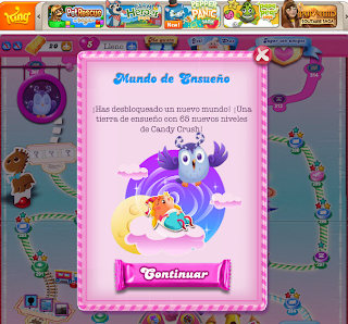 mundo de ensueño candy crushv