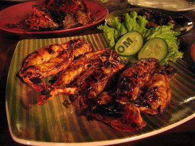 Resep Makanan Indonesia - Cumi Bakar Kecap
