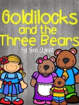 https://www.teacherspayteachers.com/Product/Goldilocks-and-the-Three-Bears-1727983