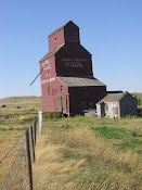 Vanishing symbol of the west, Wood Mountain, Sask.