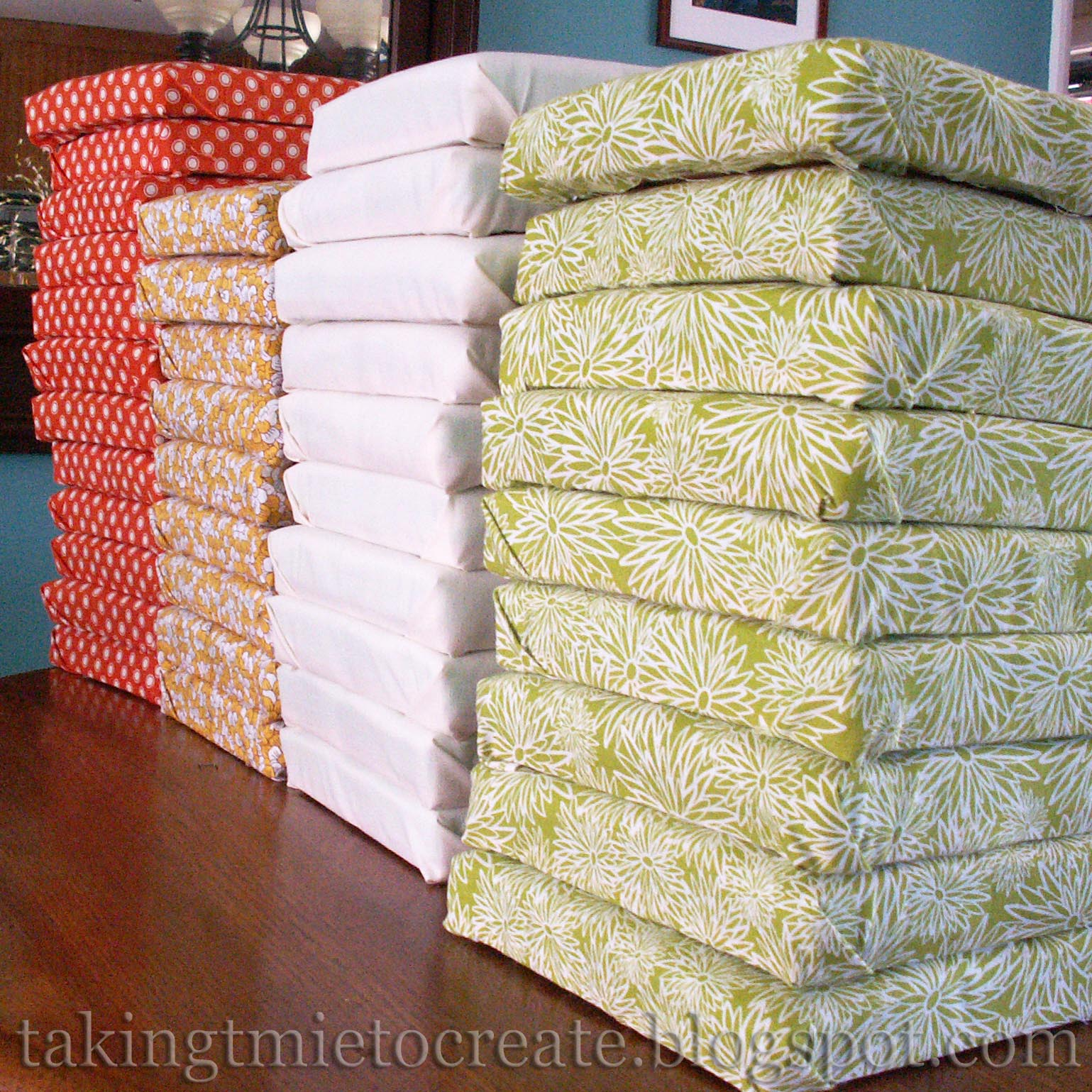 Taking Time To Create Patchwork Headboard Tutorial