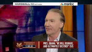 Bill Maher guest on Hardball with Chris Matthews