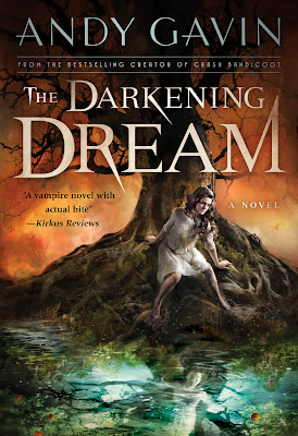 Book Review : The Darkening Dream (Book 1), By Andy Gavin Cover Art