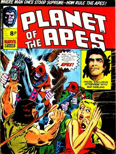 Marvel UK, Planet of the Apes #12