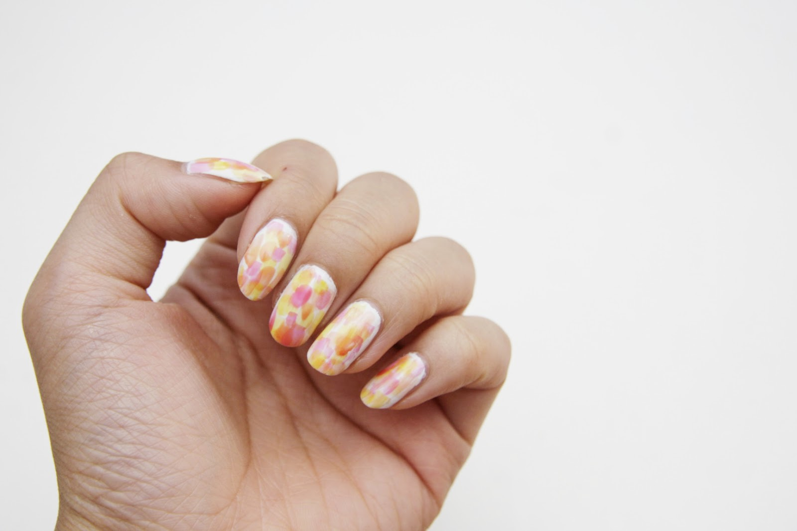 fun size beauty: #MANIMONDAY: Impressionist Monet Nail Art ft. Essie ...