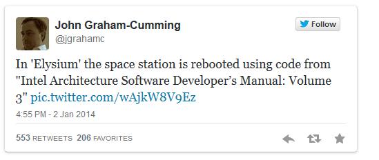 Грэм-Камминг получил больше 500 ретвитов.