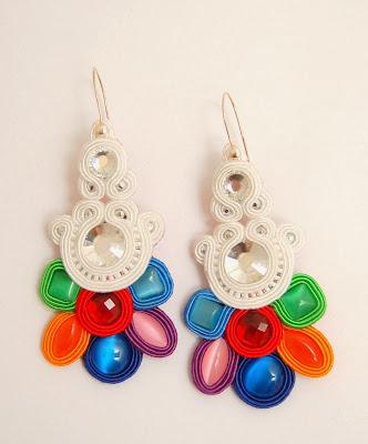 kolczyki sutasz soutache earrings 73