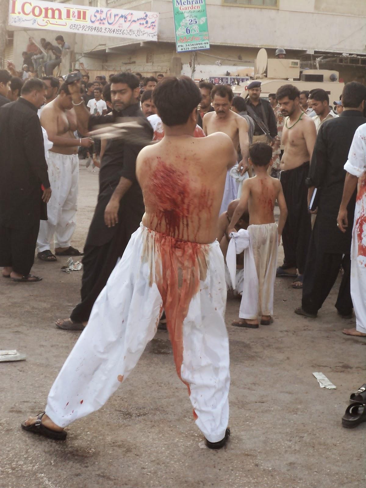 AZADAAR E HUSSAIN: Zanjeer Zani Malir Karachi