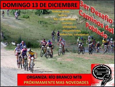 MTB - 3º Desafío Camino del Poblado (Río Branco MTB, 13/dic/2015)
