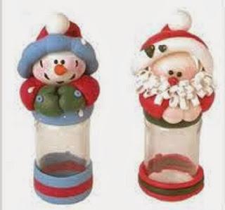 Ideas para Reciclar Frascos de Vidrio para Navidad
