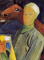Olivia Holm-Møller - Selvportræt - 1947