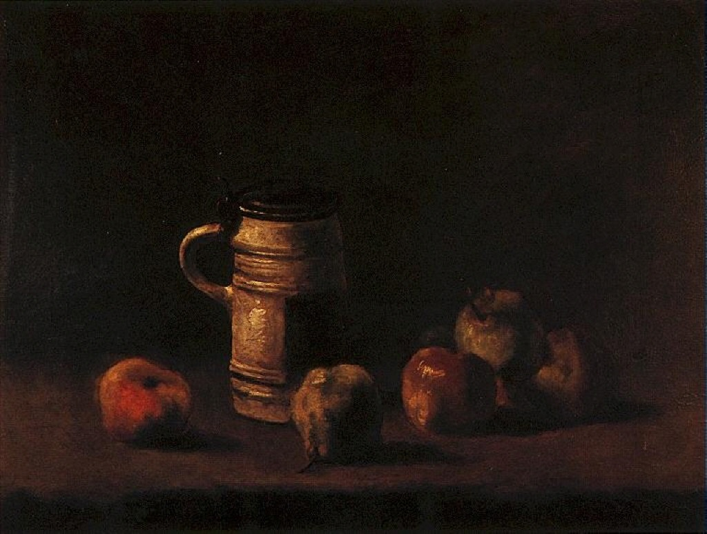 Still Life With Beer Mug and Fruit no longer believed to be by Vincent van Gogh