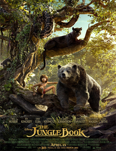 Ver El Libro de la Selva (The Jungle Book)  (2016) película Latino