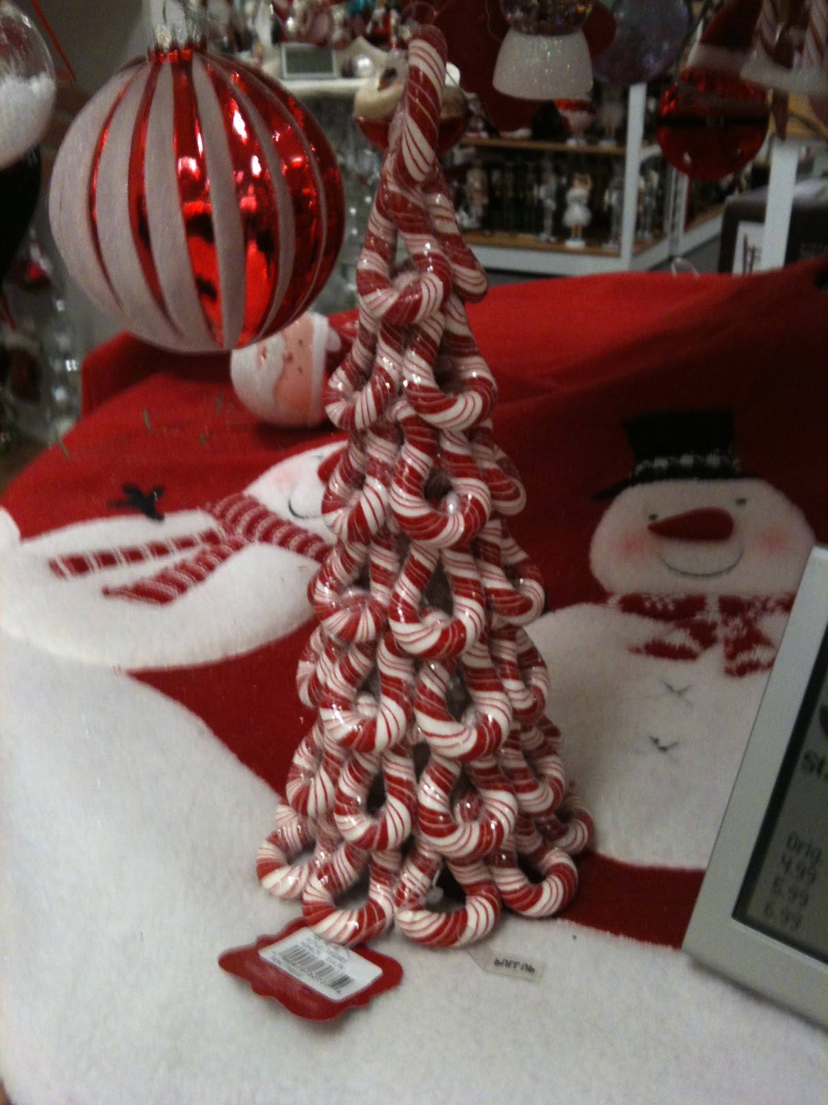 Large candy cane ornaments - My Daughter Found This Ornament We Both Loved The Cluster Of Candy Canes Turned Into A Christmas Tree Another Easy Idea To Make For Your Own