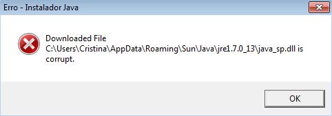 Erro java_sp.dll - imagem retirada do Google imagens