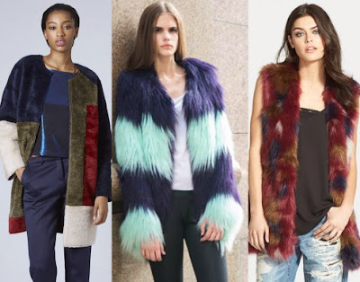 In Technicolor Faux Fur image