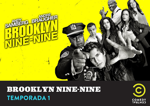 brooklyn nine nine poster promocional