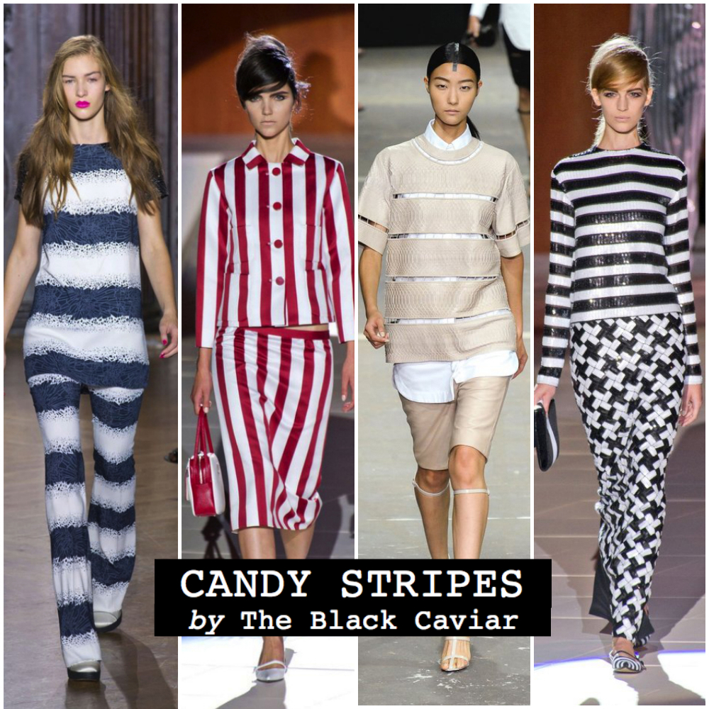 Summer fashion trend 2013: Candy Stripes (Giles, Louis Vuitton, Alexander Wang, Marc Jacobs