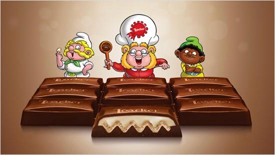 in arrivo  la campagna cioccogolosa loacker con trnd