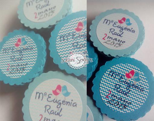 etiquetas personalizadas regalos bodas